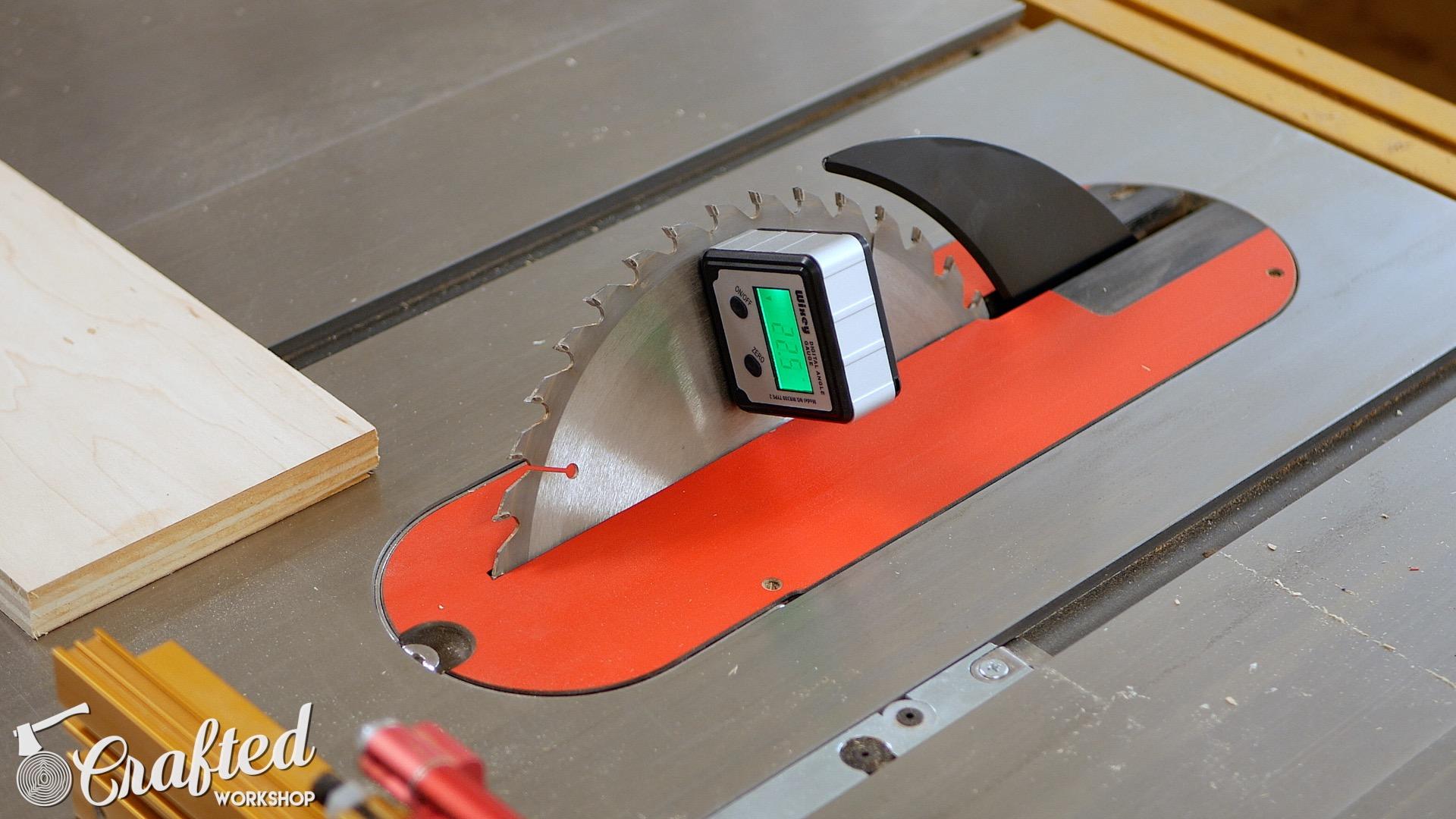 Wood Snare Drum cajon diy digital angle finder table saw