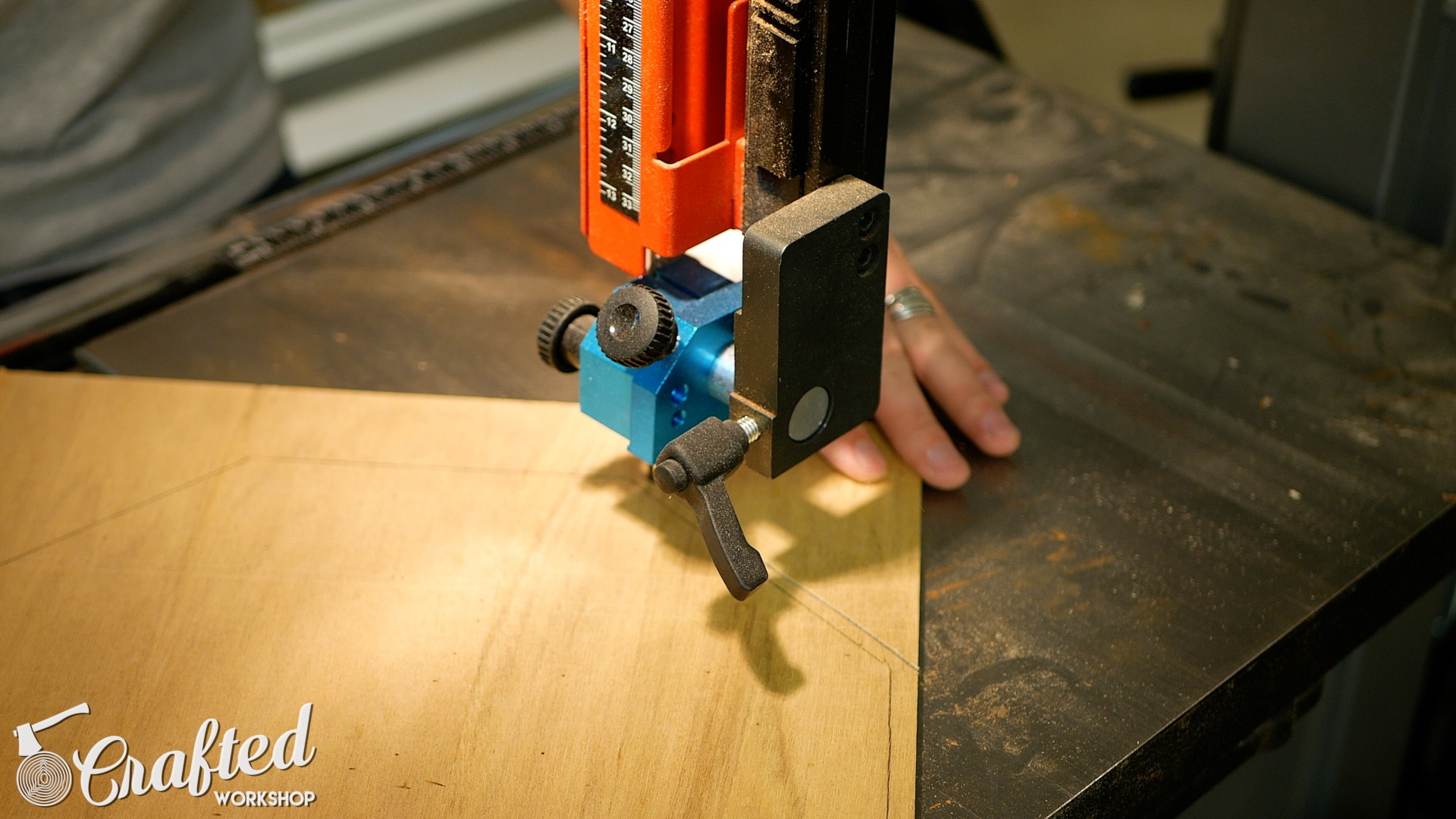 Wood Snare Drum cajon diy cutting snare head bandsaw