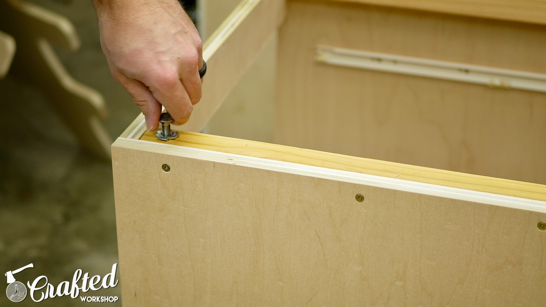 CNC Table Tool Storage Cabinet diy leveling feet