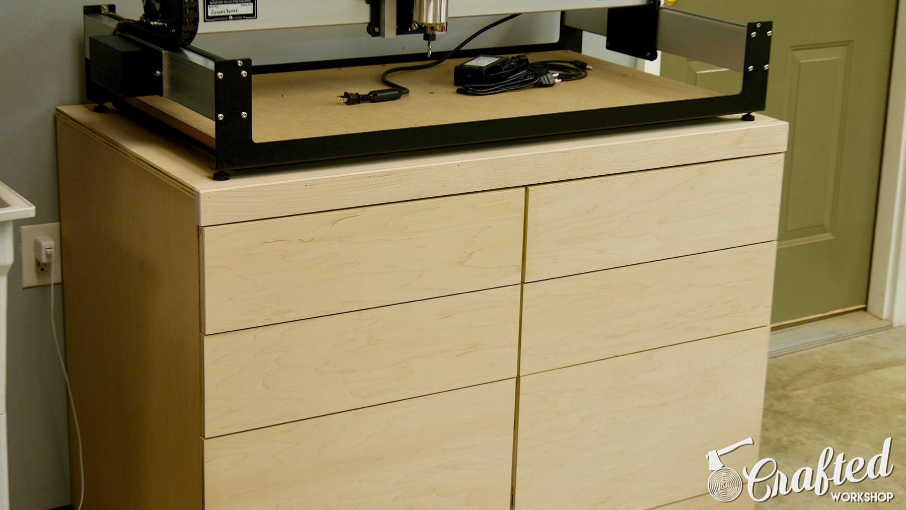 shapeoko 3 xl CNC Table Tool Storage Cabinet