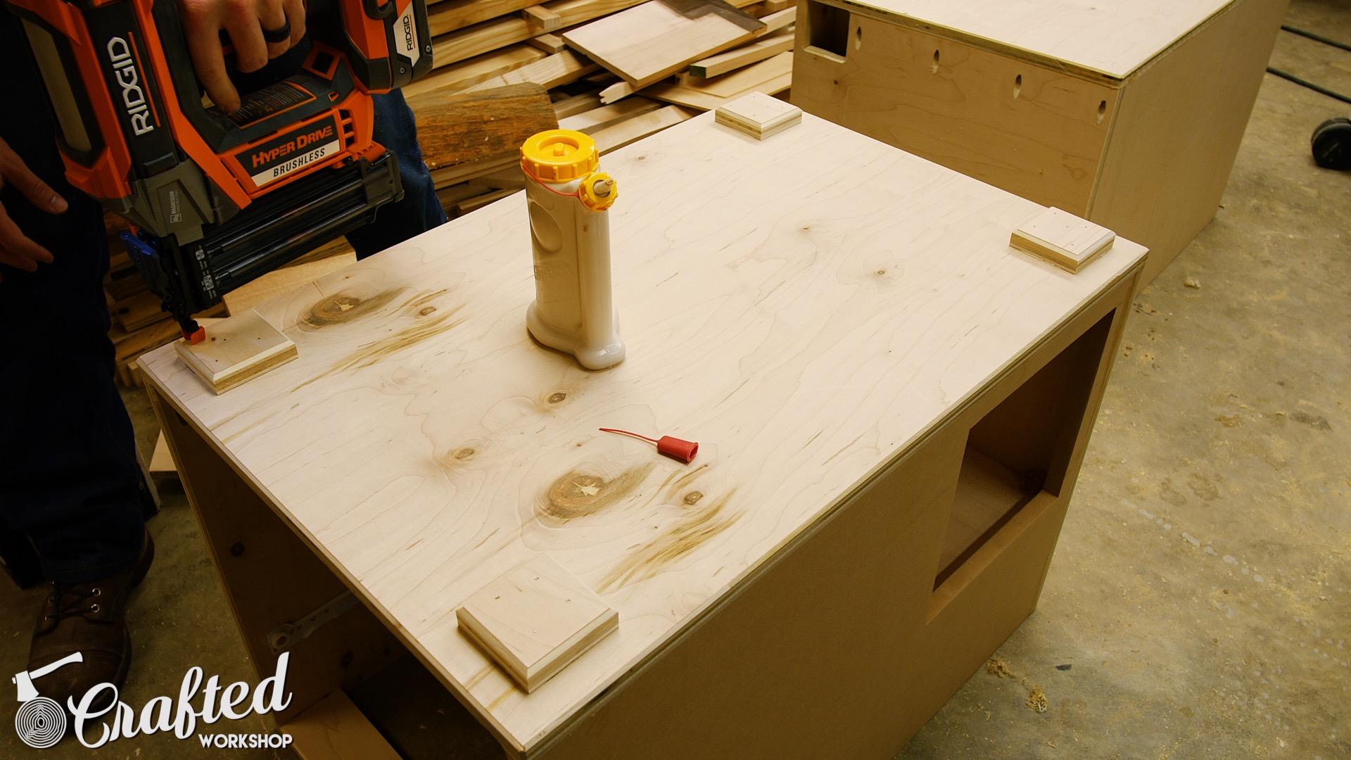 Building A Computer Desk DIY Desk PC Part 2