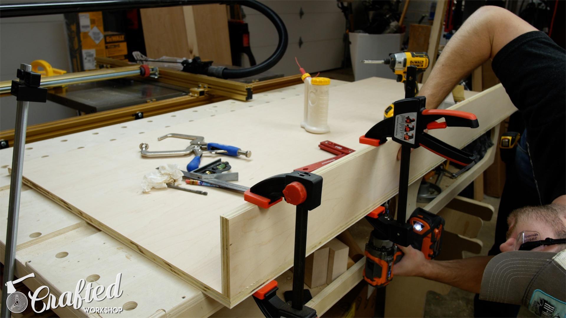 Computer Desk DIY Desk PC Build