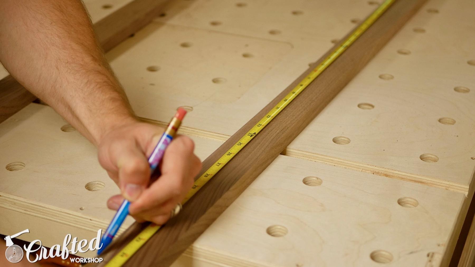 DIY Light Box Sign How-To Build walnut paulk workbench