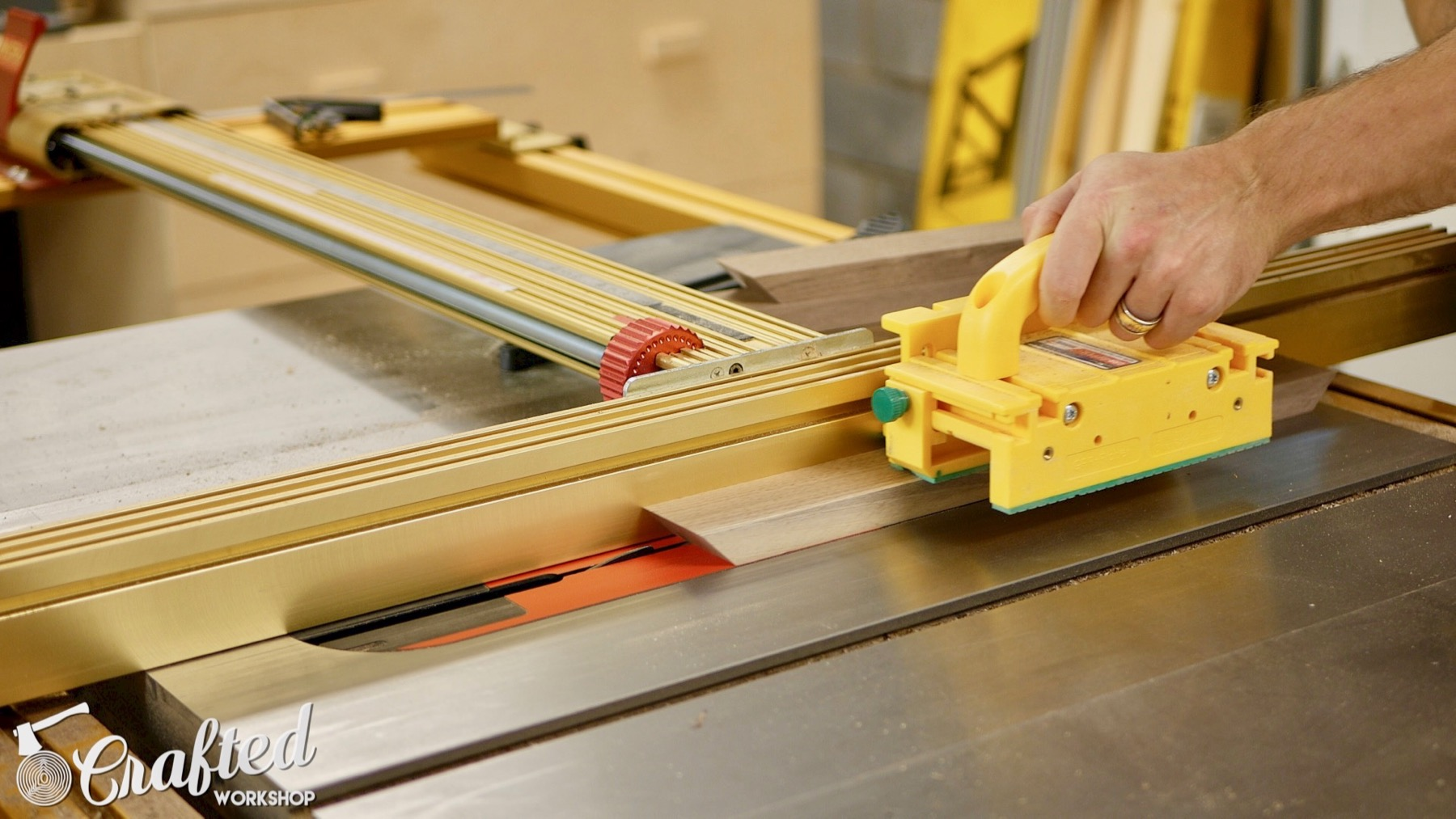 DIY Light Box Sign How-To Build sawstop pcs table saw