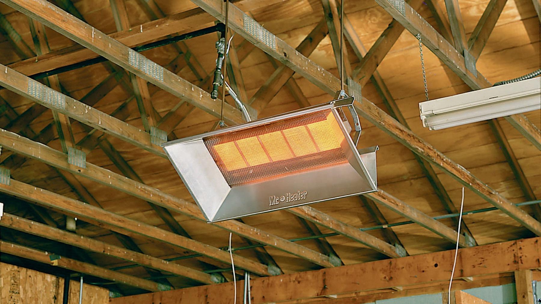 Shop Heating propane heater