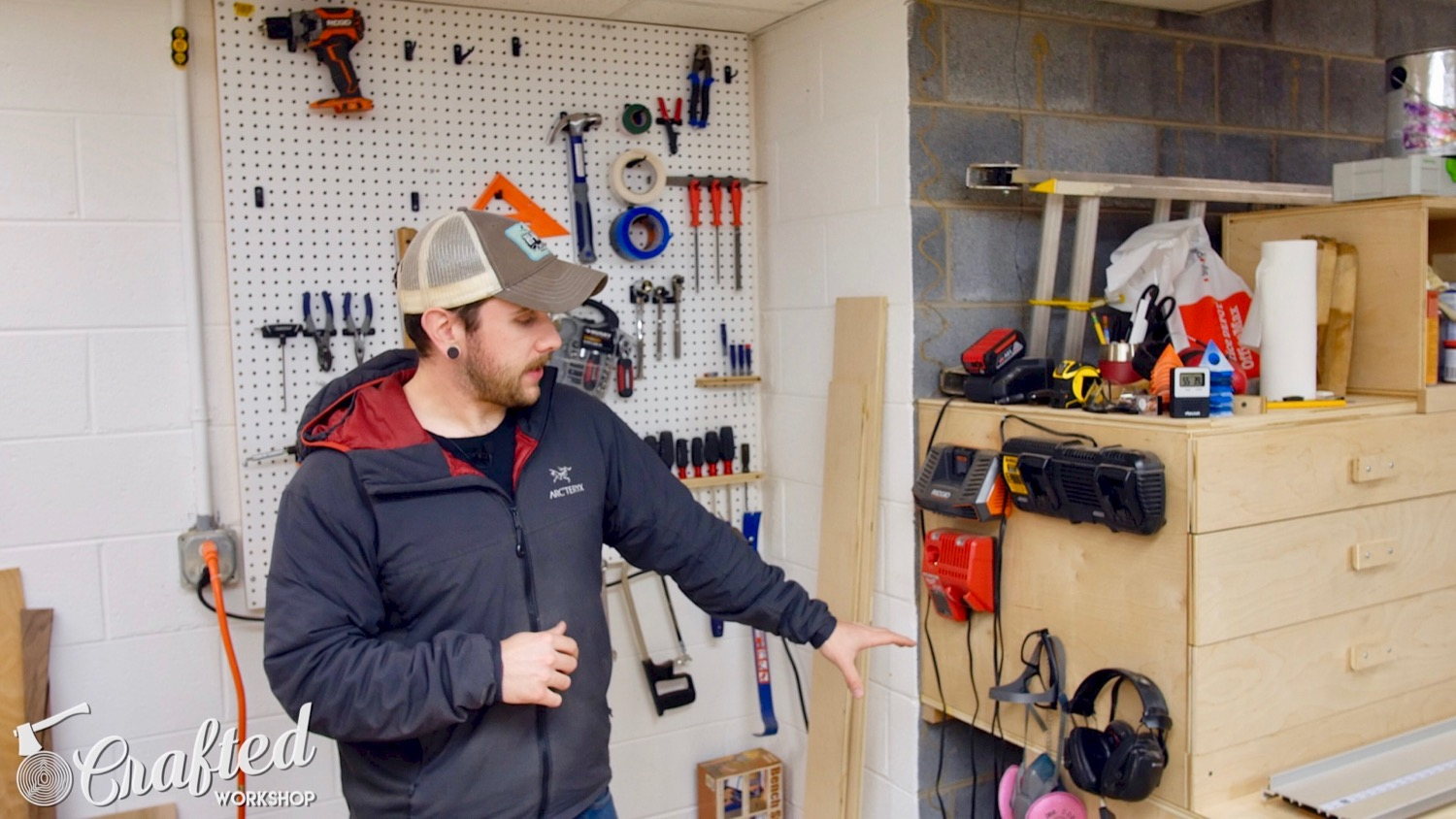 Shop Tour 2017 crafted workshop woodworking
