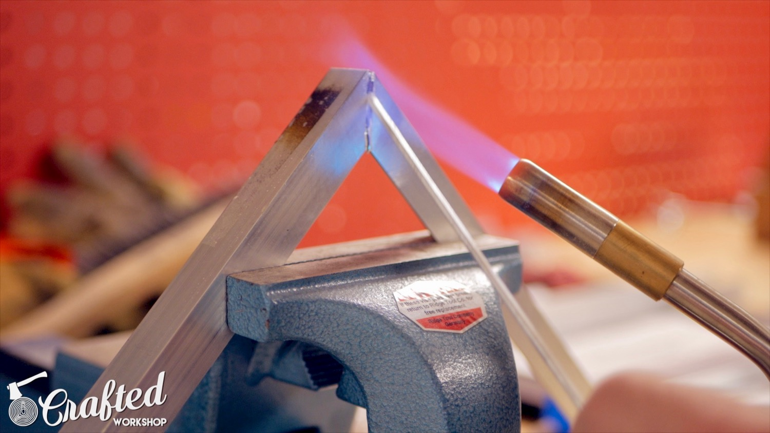 aluminum brazing using filler rod and map gas