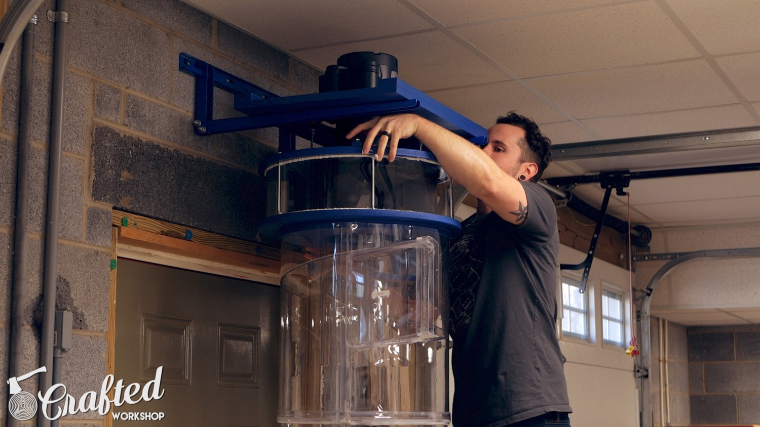 installing the clearvue cv1800 dust collector