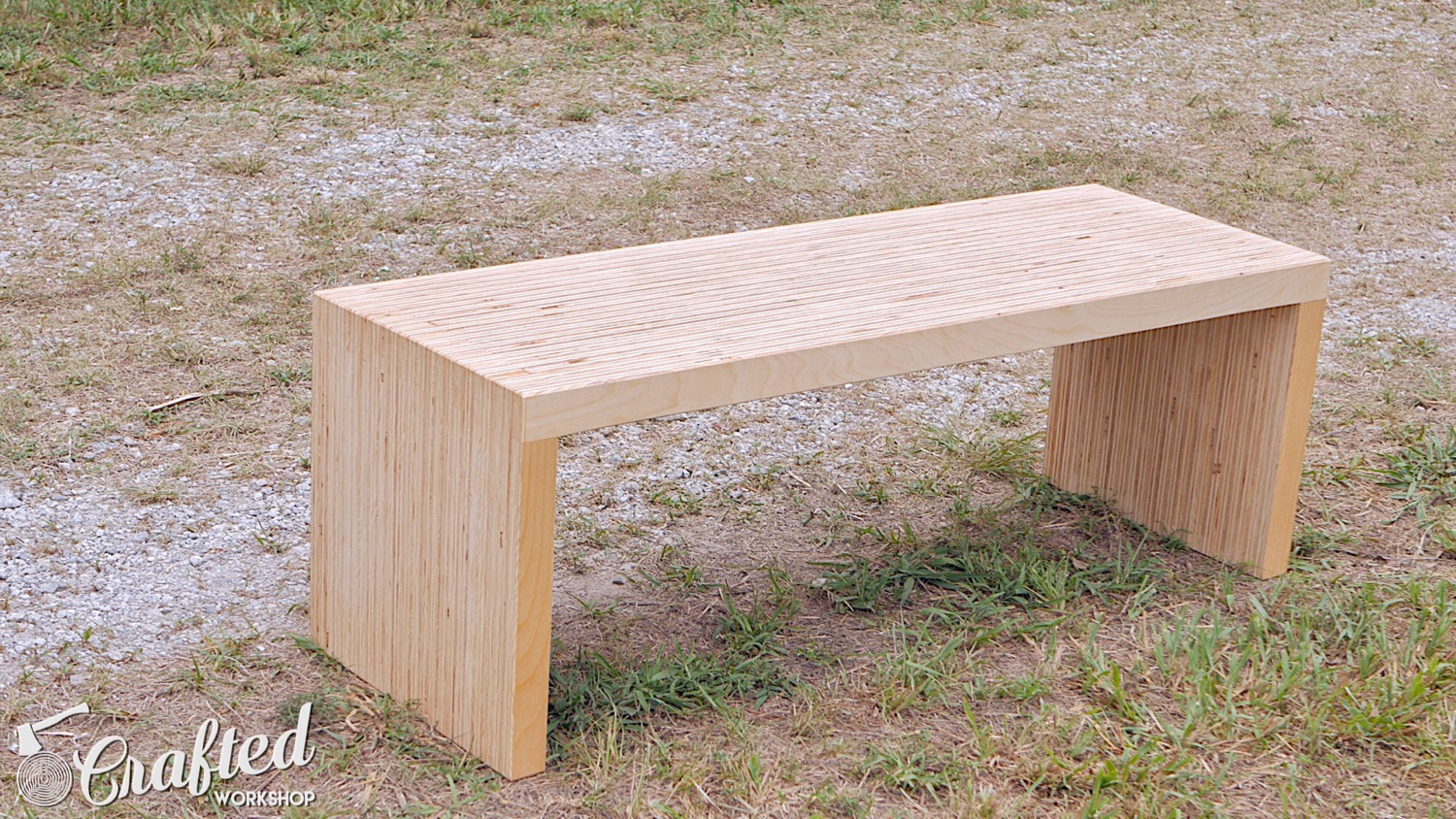 DIY Plywood Coffee Table Made With One Sheet Of Plywood ...