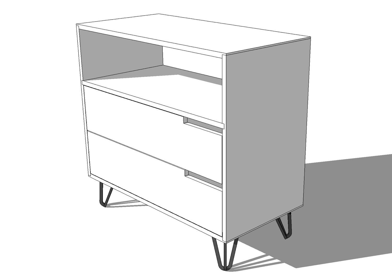 Modern Dresser Dining Table Plans