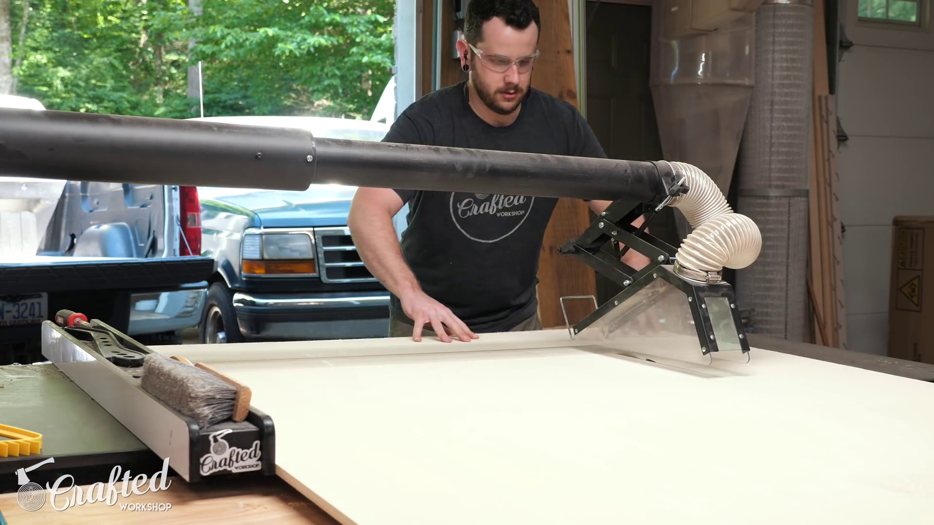 Ripping Plywood to Width