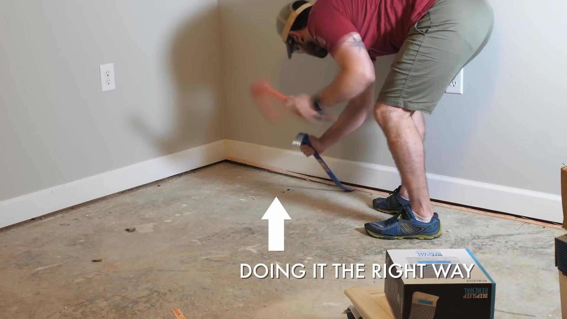 Removing Tack Strips