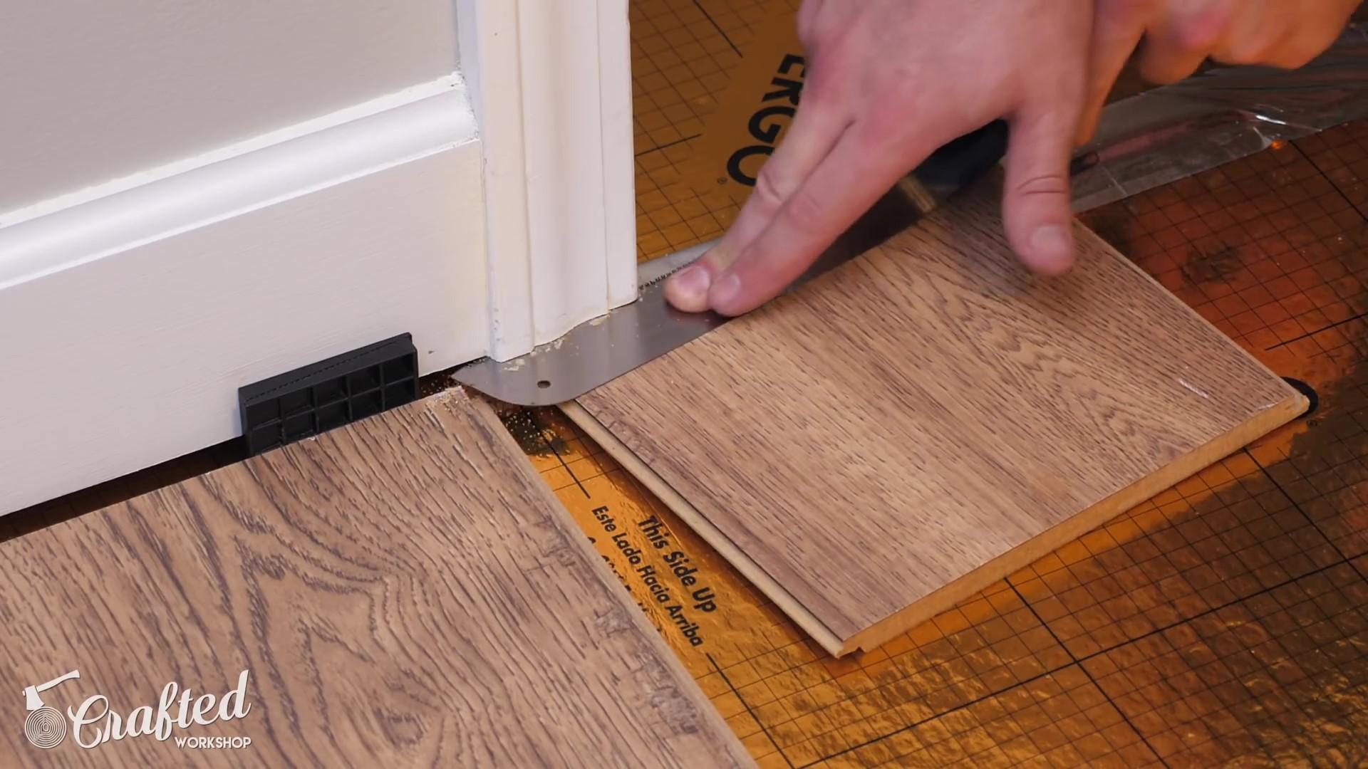 Undercutting Door Trim