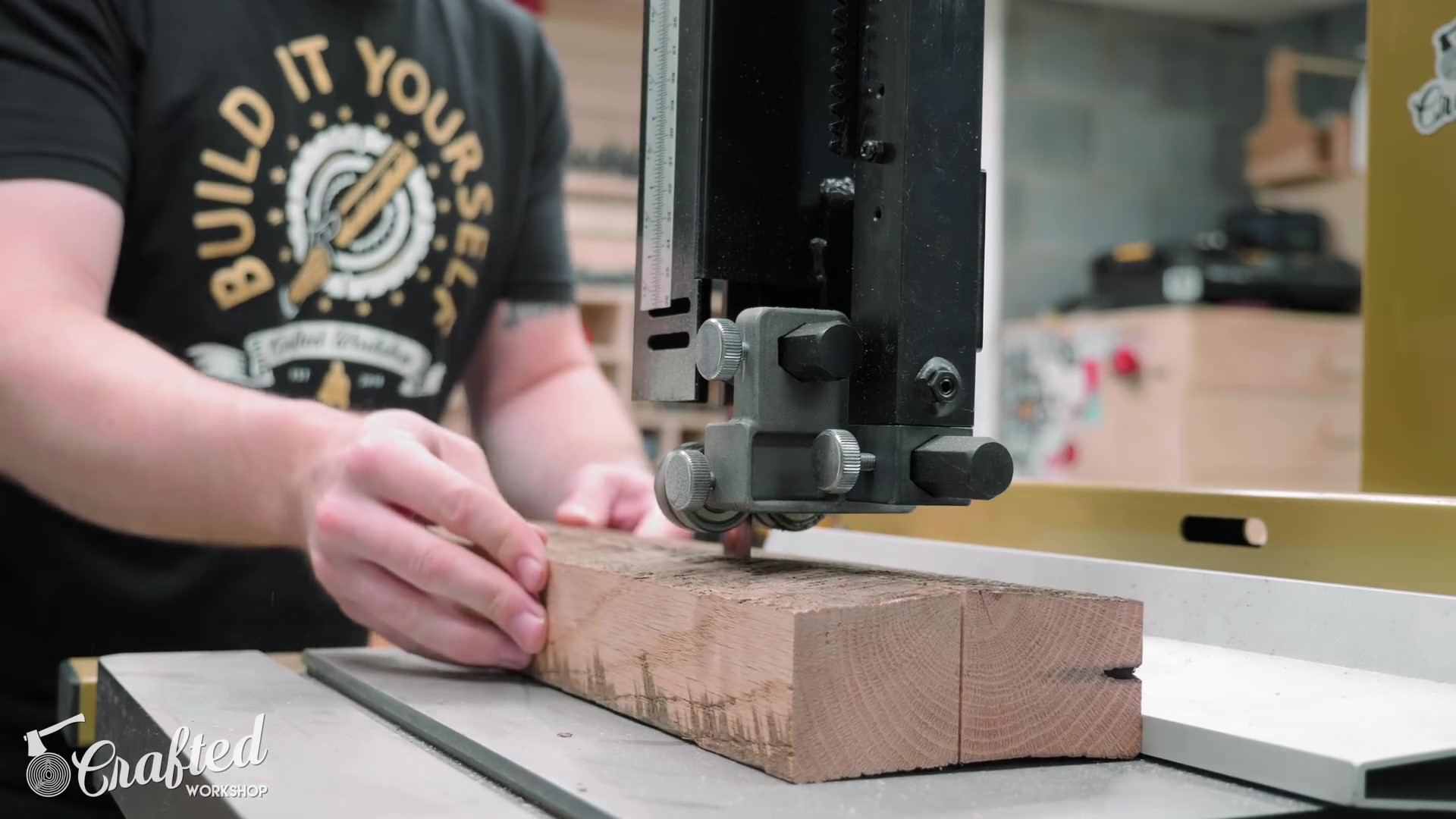 Milling Boards at the Bandsaw