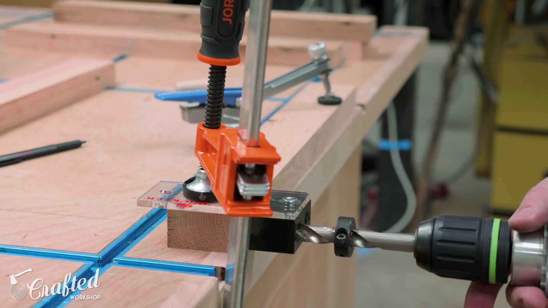 Drilling Dowel Joinery