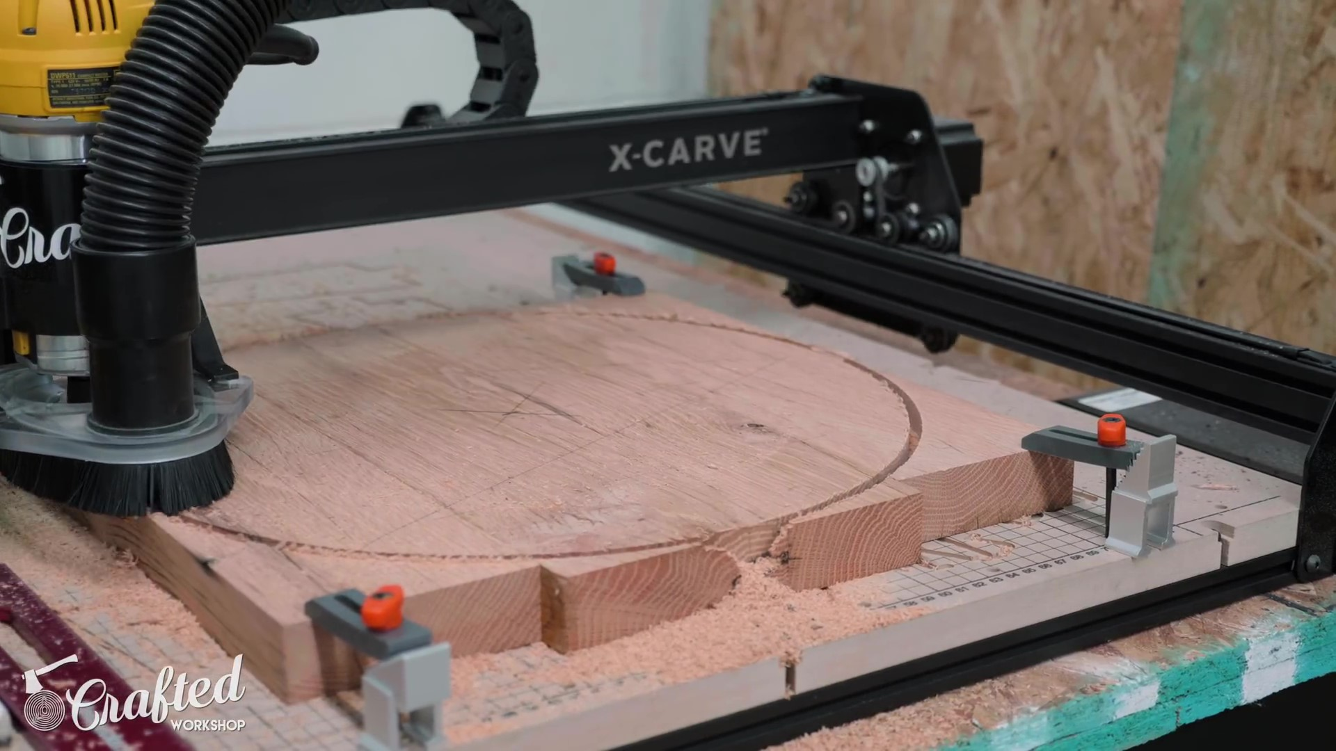 Carving the Top on the X-Carve