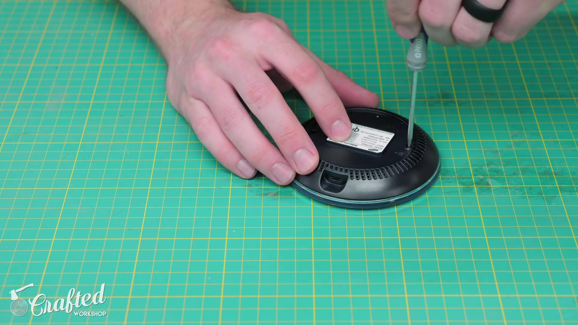 Disassembling a Wireless Charger