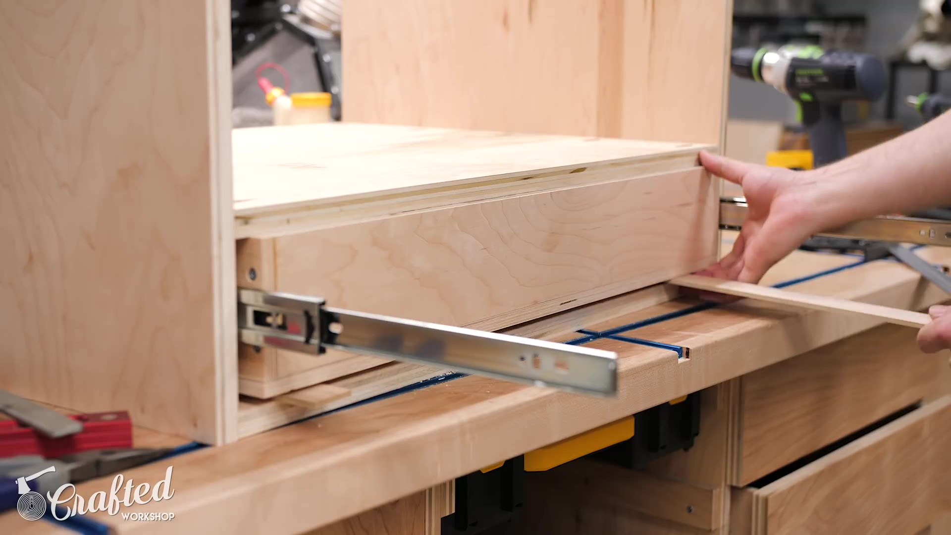 Installing the Drawer