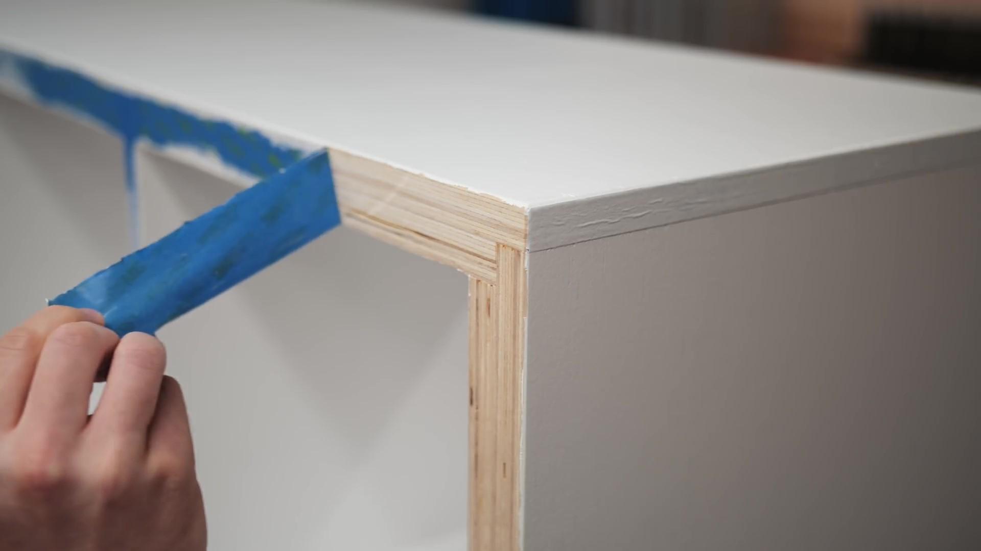 Exposed Plywood Edge