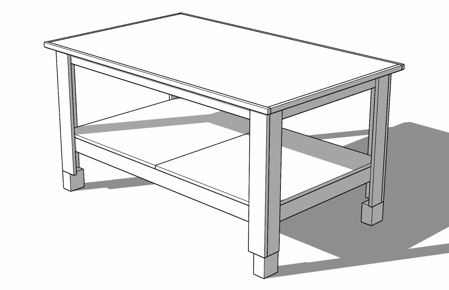 Outfeed Table SketchUp File