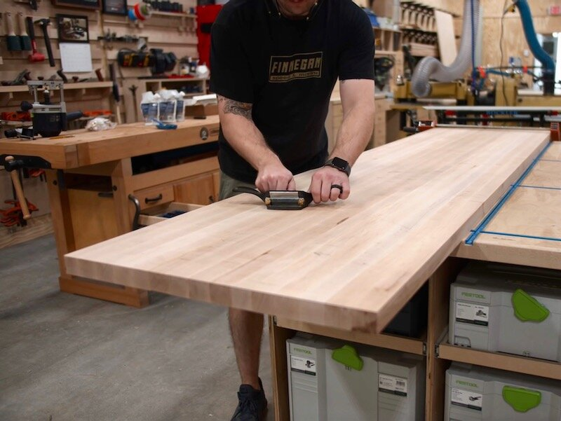 How To Build And Install Butcher Block Countertops Home Bar Pt 4 Crafted Workshop