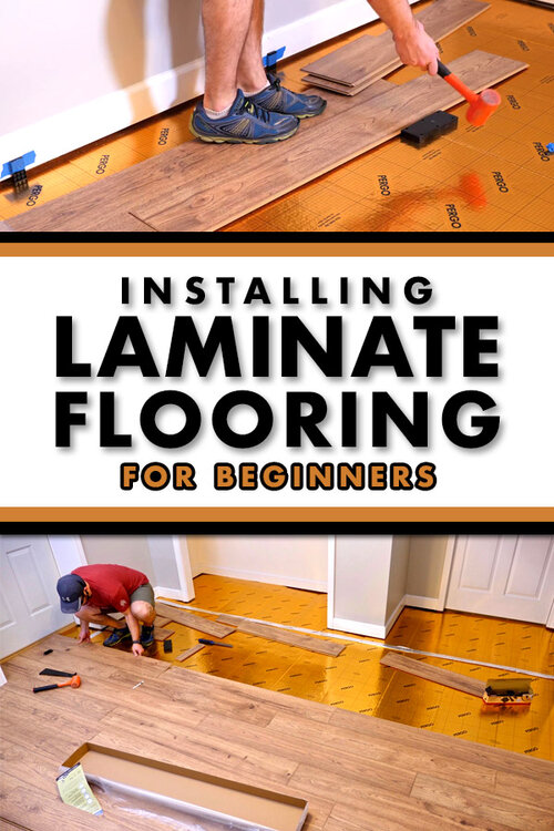 Installing Laminate Flooring For The, Can A Beginner Install Laminate Flooring