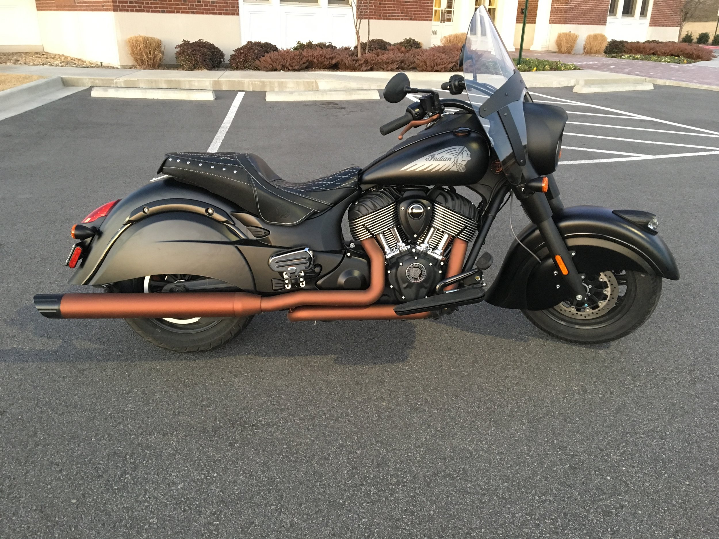 Harley Exhaust in 2062 American Copper