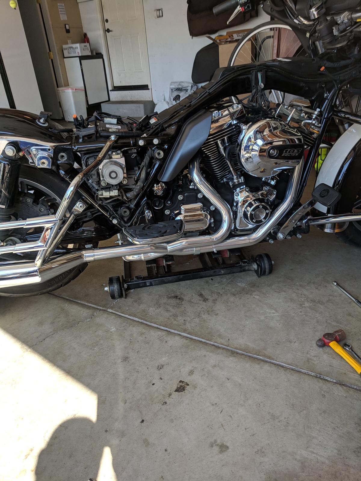 Doug's Harley After