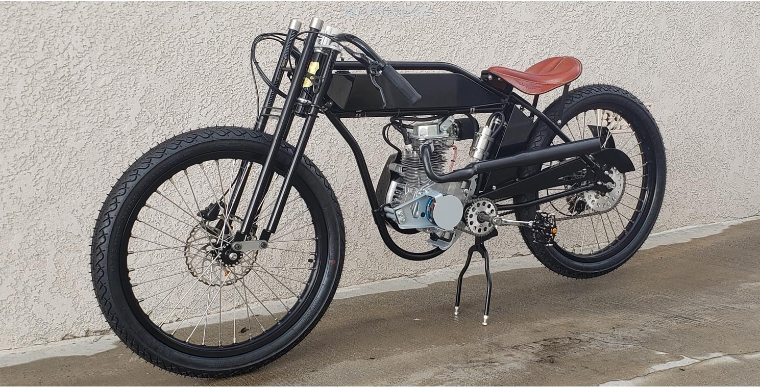 Jeff's Motorized Bicycle