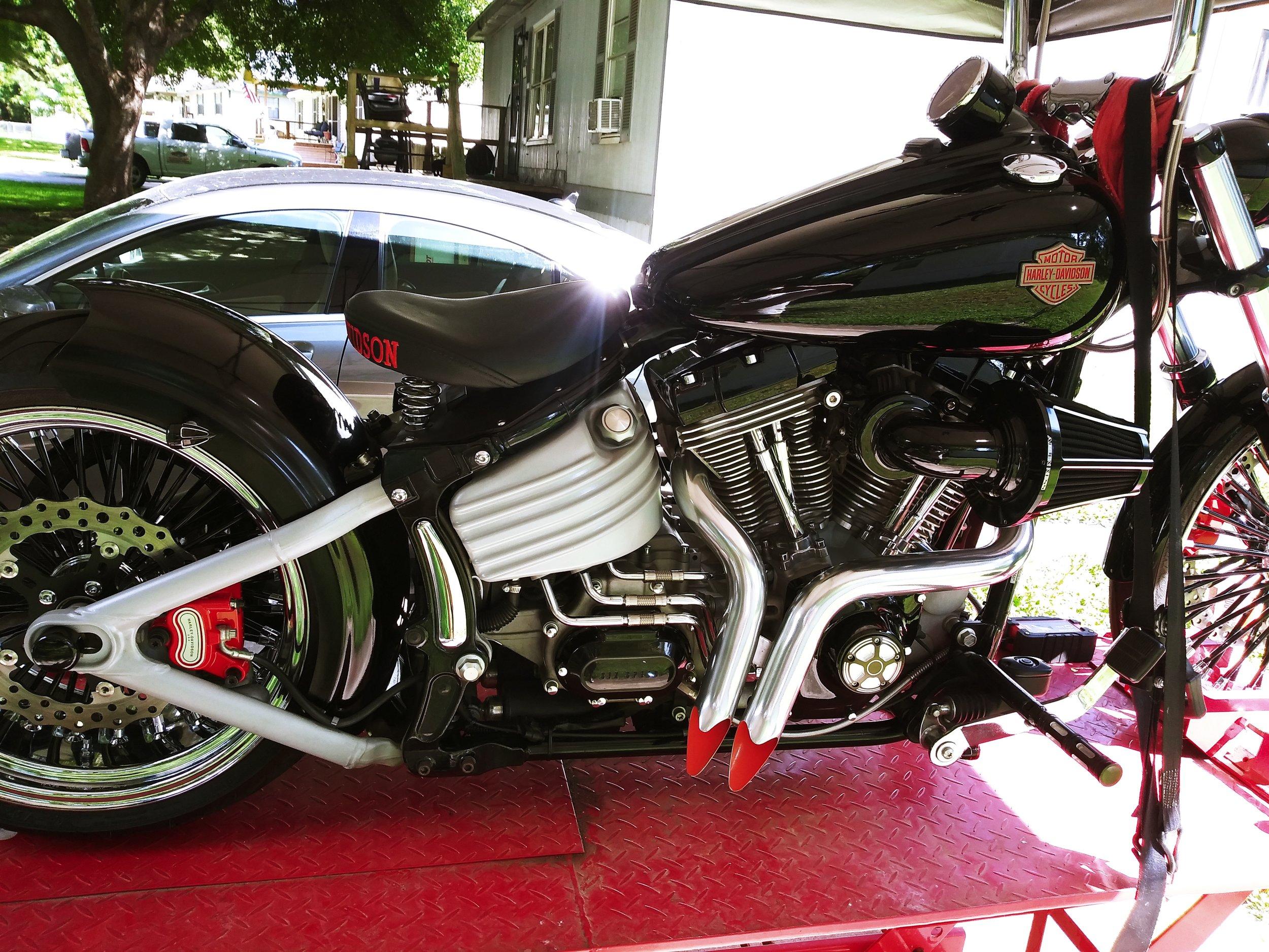 Oscar's Harley Davidson Rocker