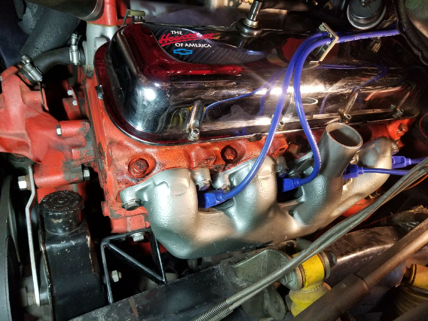 Bruce's Big Block Chevy Manifolds