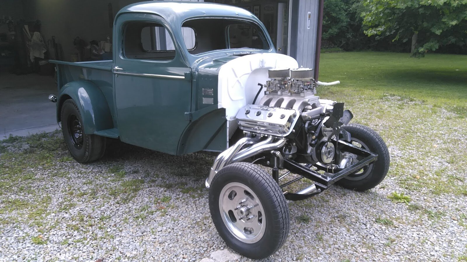 Dave's 1940 Willy's Pickup