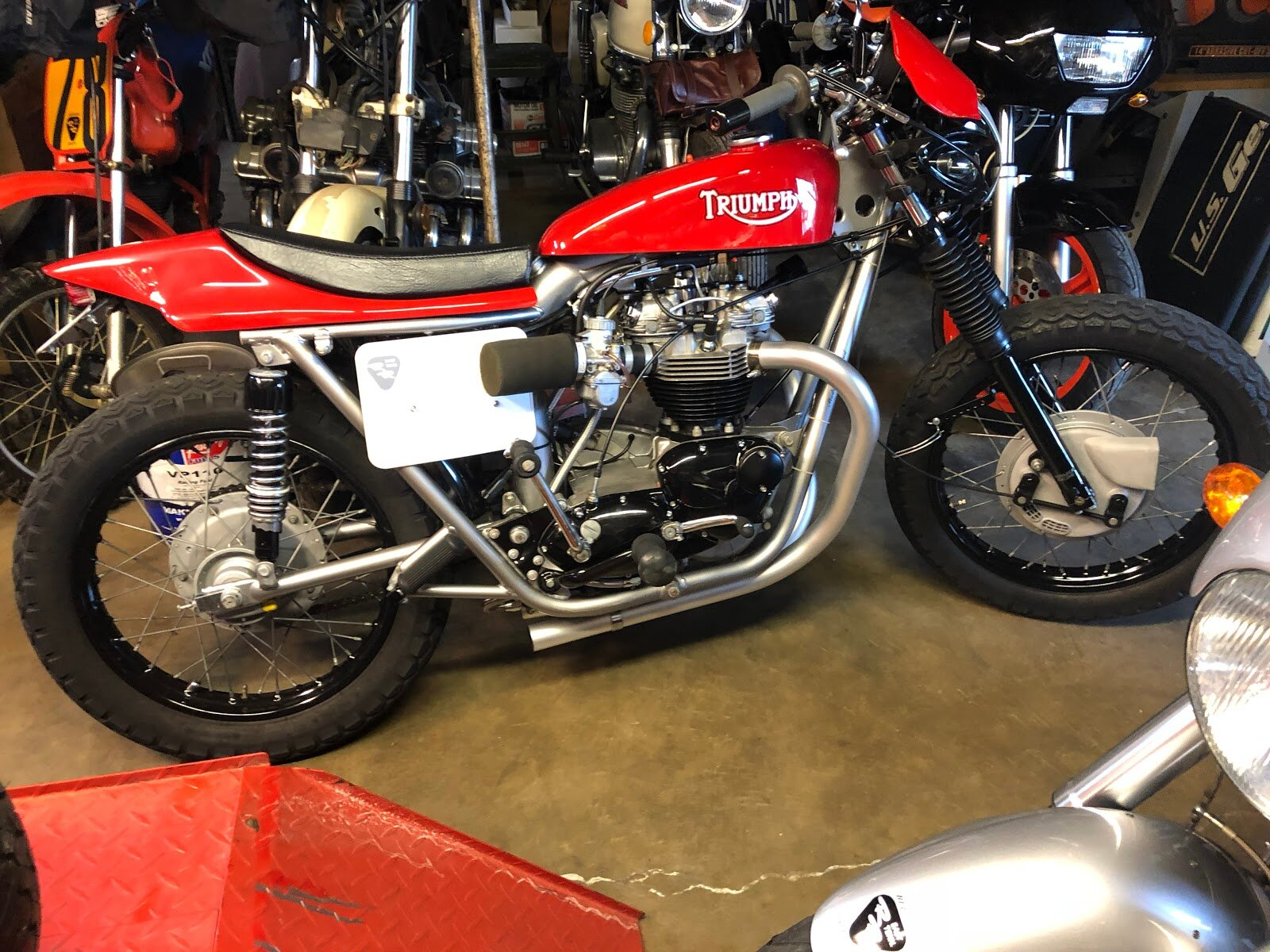 Randy's T120 Triumph