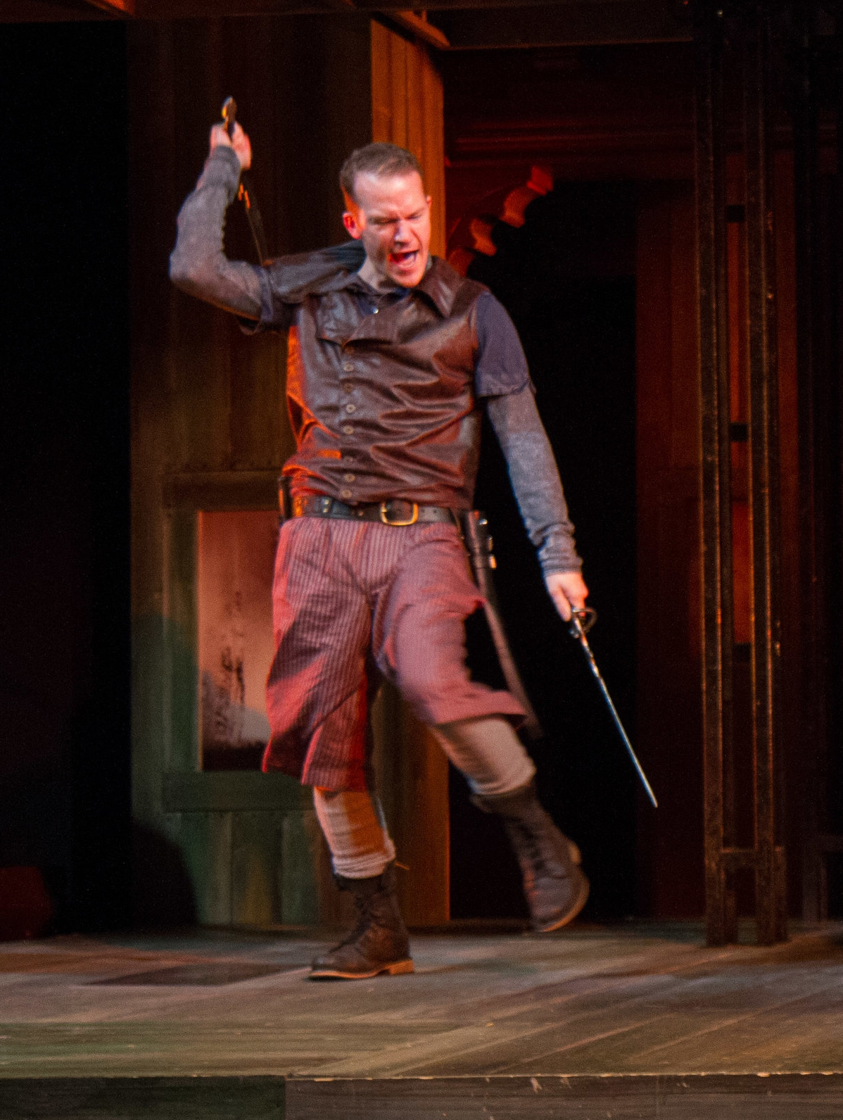 Tybalt in Romeo & Juliet at Folger Theatre