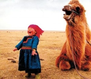 Child With Camel
