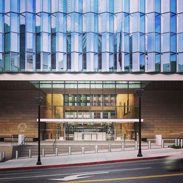 United State Courthouse, Los Angeles #archilovers #archidaily #architecture #architecturalphotography