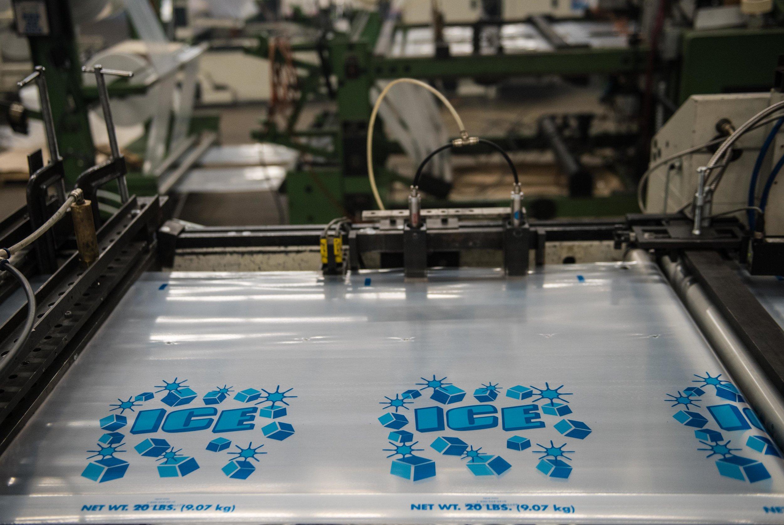 high quality polyethylene bags production line photography