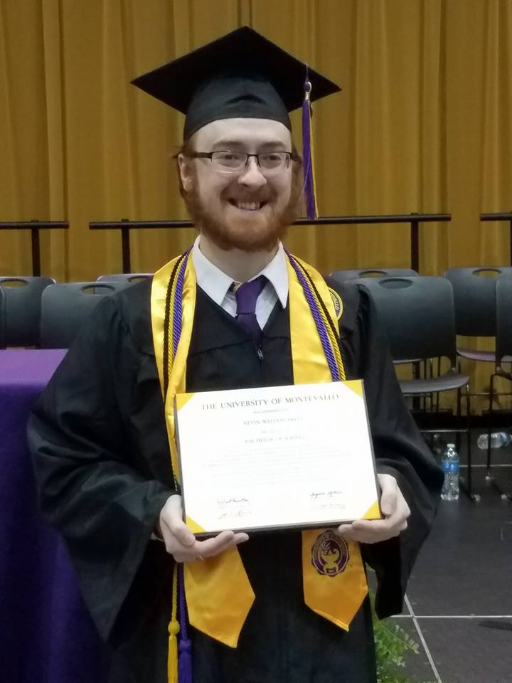 KEVIN BRITT (2016)    Degree : B.S. in Math