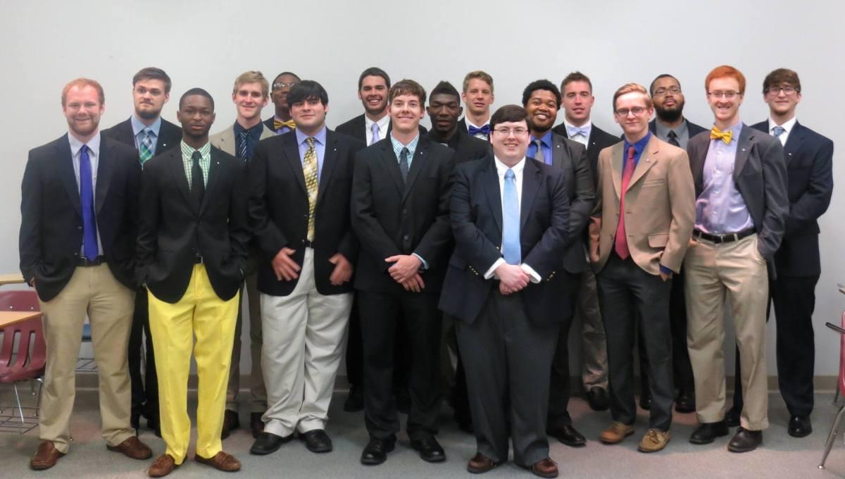Alpha Class Initiation. Circa 2014