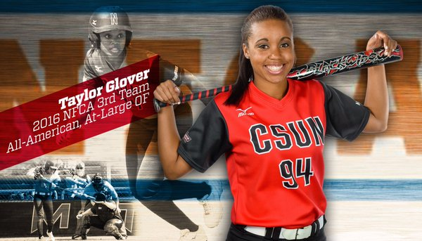 Taylor Glover Cal State Northridge All-American and 2017 Big West Conference Player of the Year.