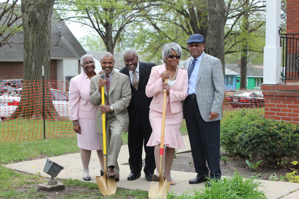 April 15, 2017 Ground Breaking (Easter 2017)