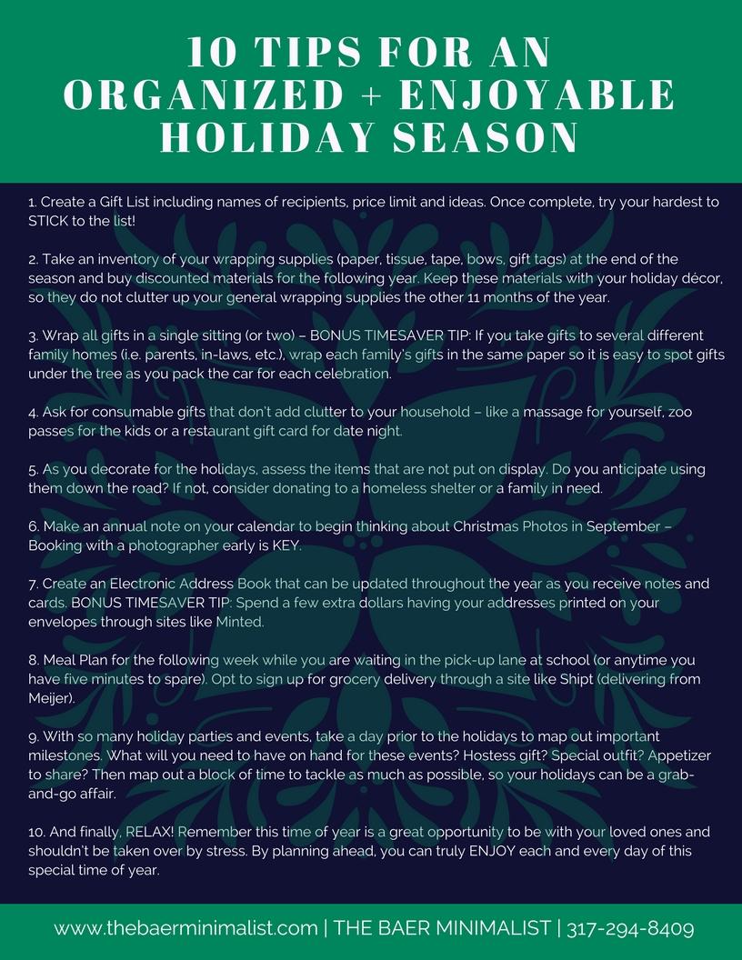 10 TIPS FOR AN ORGANIZED + ENJOYABLE HOLIDAY SEASON.jpg