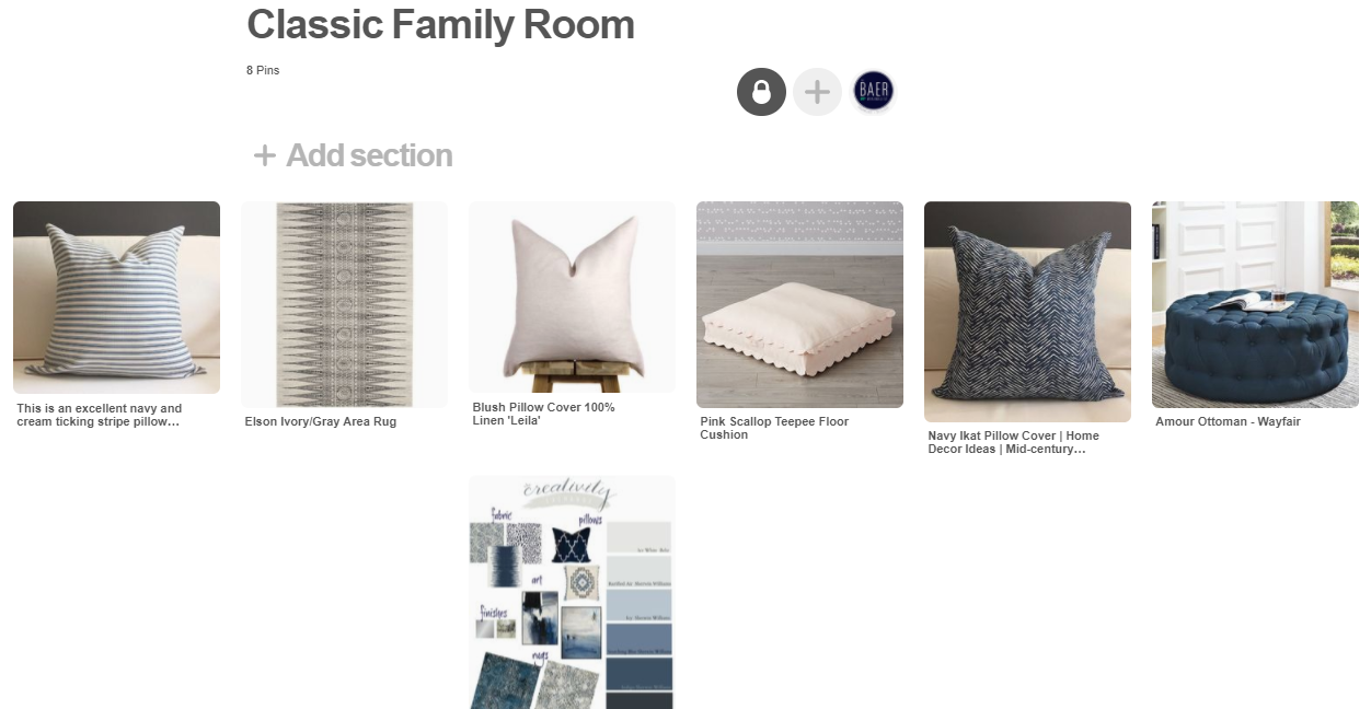 The Baer Minimalist - Classic Family Room