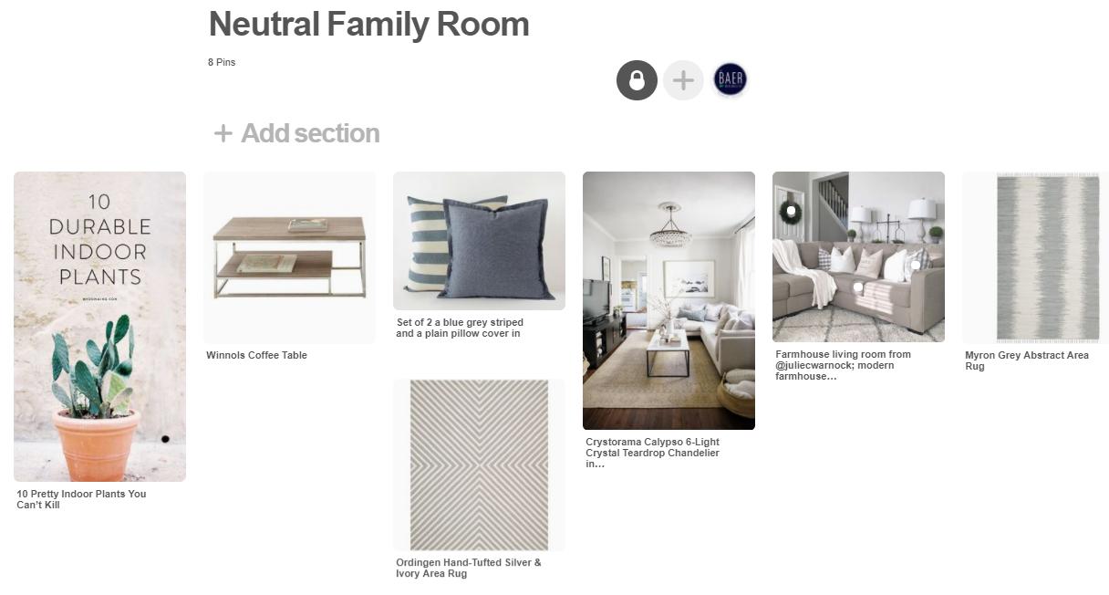 The Baer Minimalist - Neutral Family Room