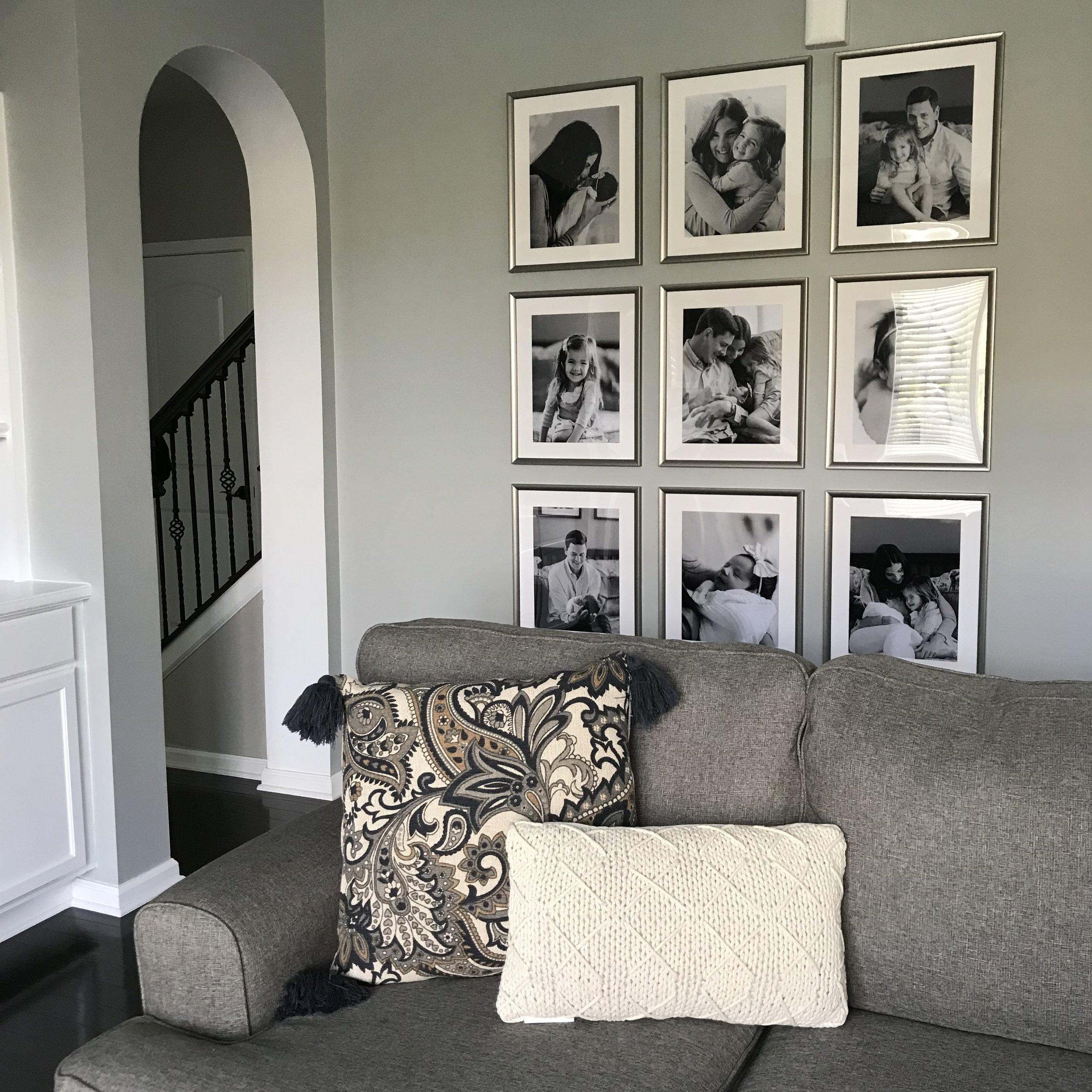 Classic Family Room - The Baer Minimalist