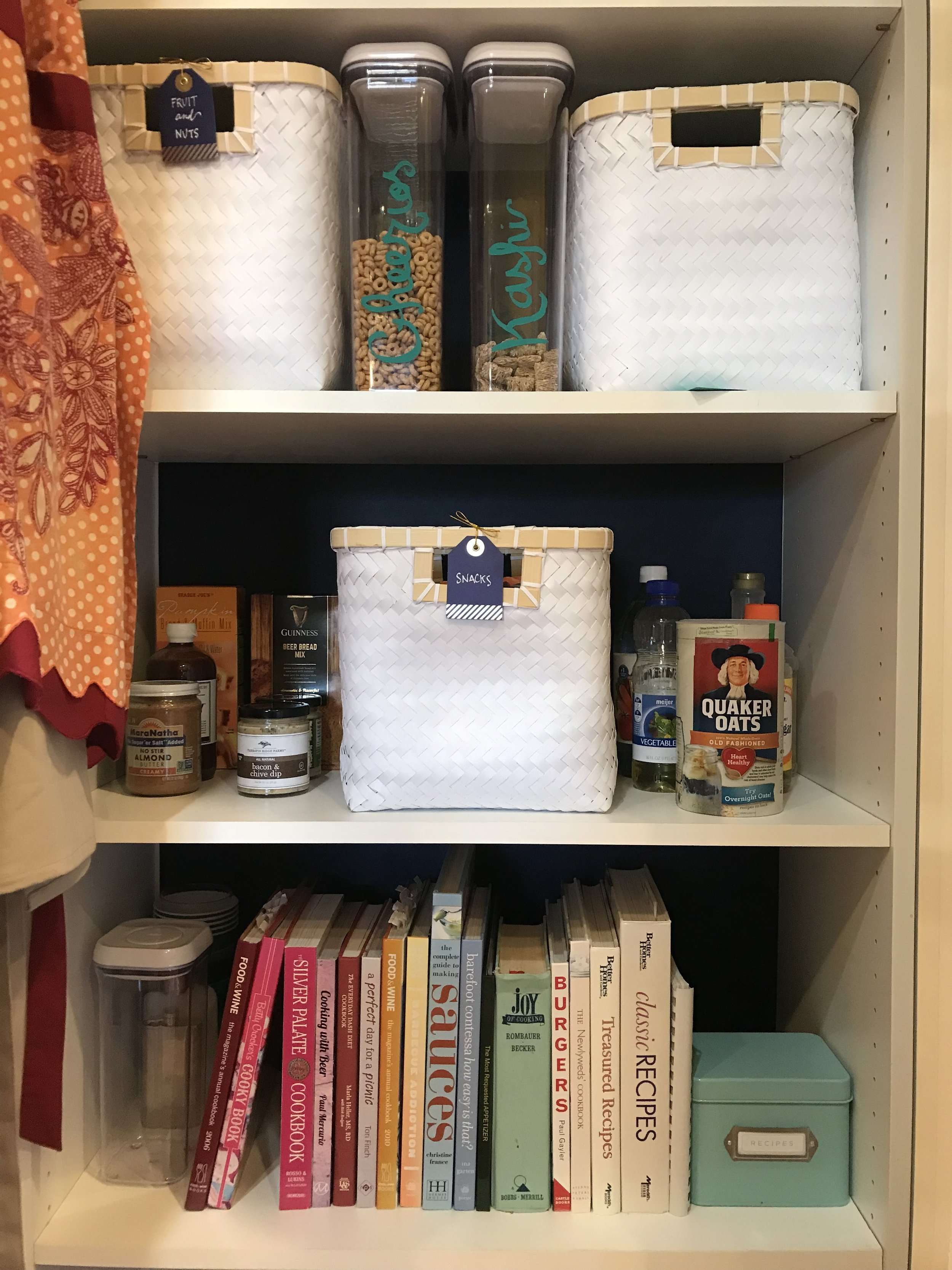 Color-coded cookbooks!