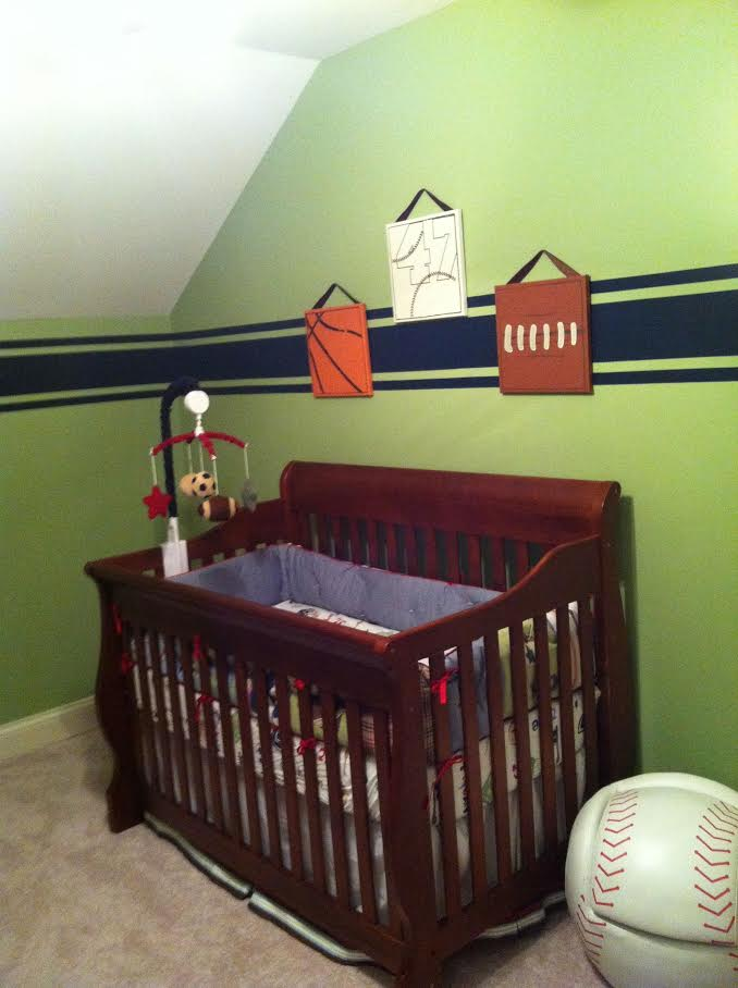 A nursery just waiting to be transformed.