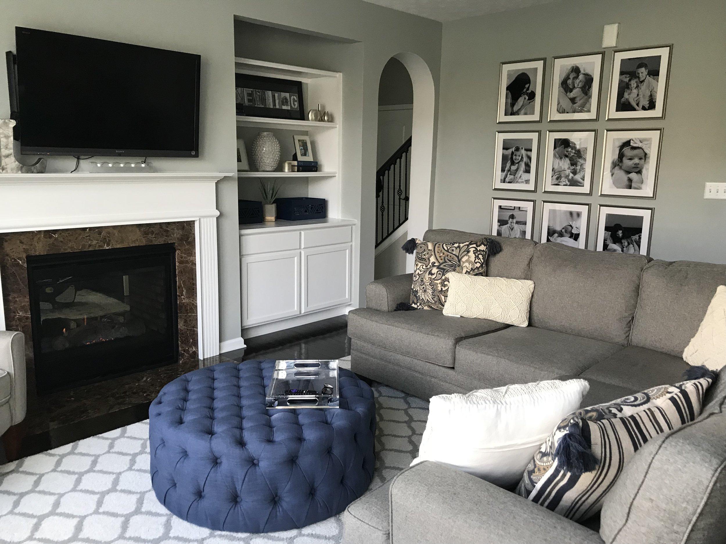 Family Room | The Baer Minimalist
