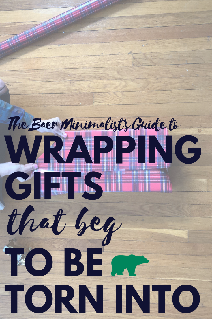 How to Wrap Gifts that Beg to be Torn Into