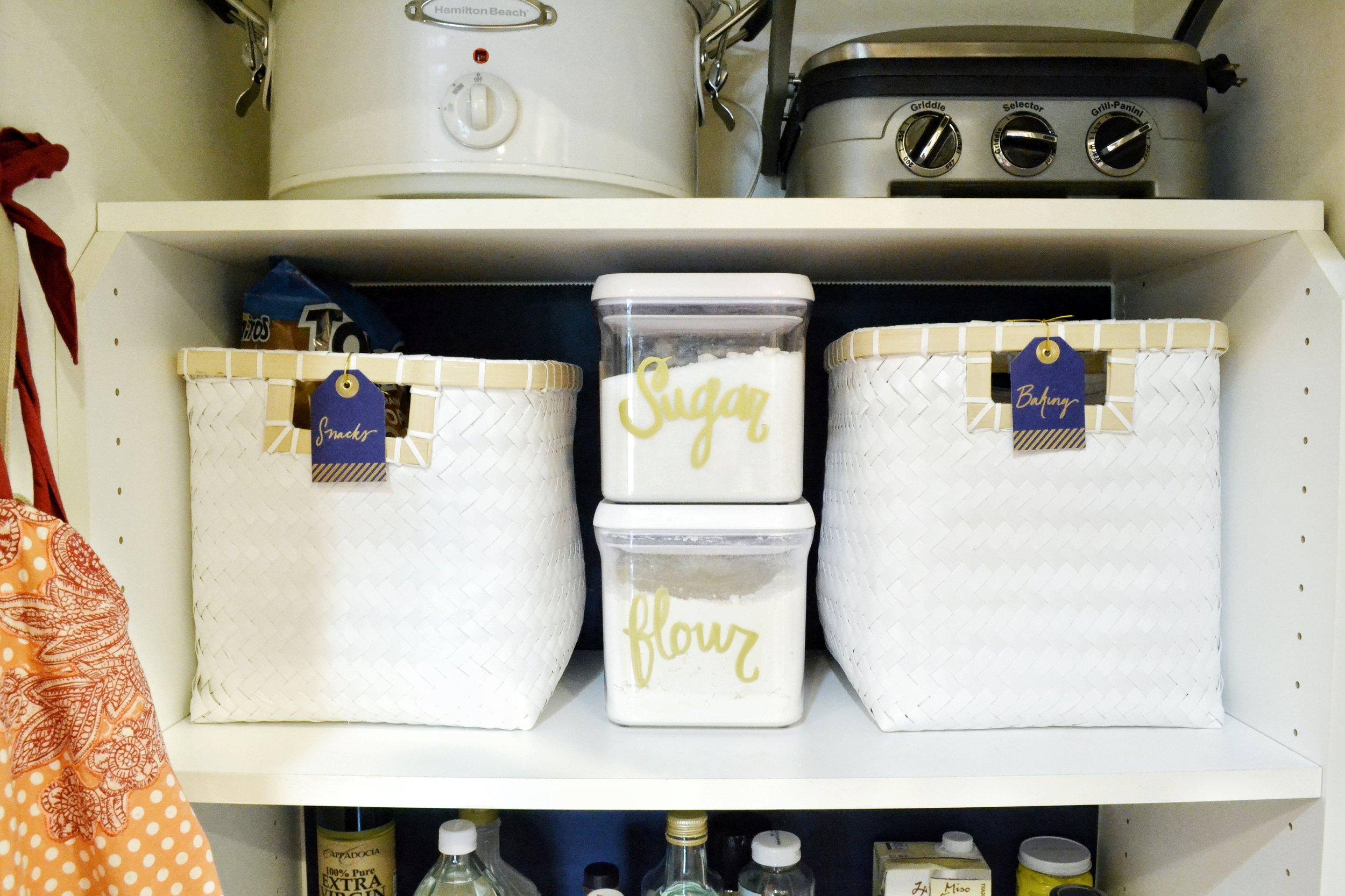 Organized Small Pantry | Image Courtesy of The Baer Minimalist